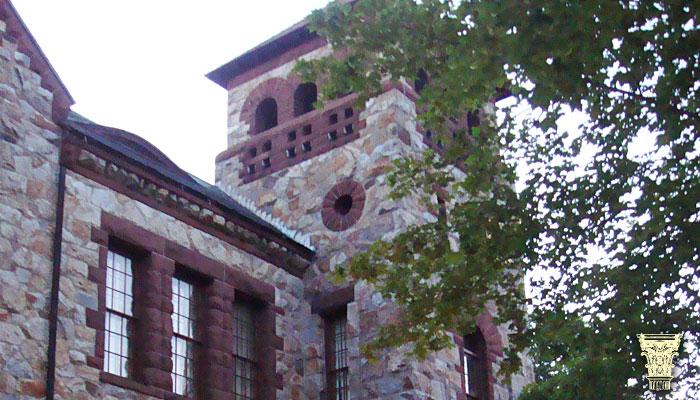 Gale Free Library Chimney Restoration