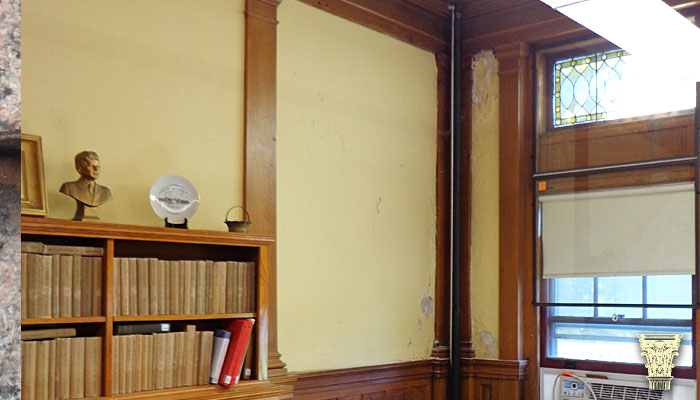 Leicester Public Library Restoration And Repair